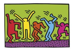 Untitled, 1987 (dance) by Keith Haring