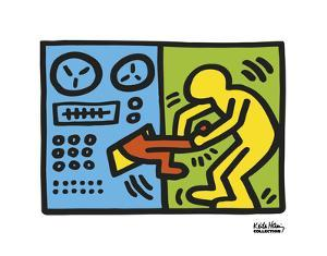 Untitled, 1989 (machine) by Keith Haring