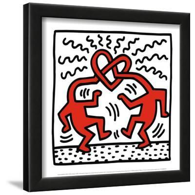 Untitled, c.1989 by Keith Haring