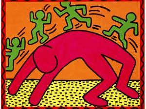 Untitled, October 7, 1982 by Keith Haring