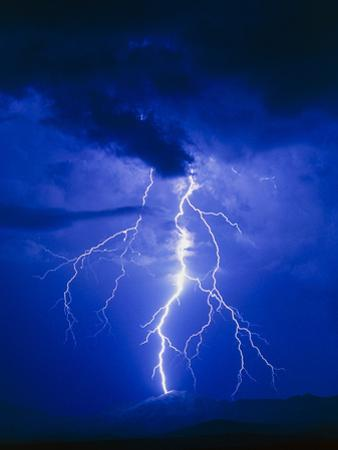 Lightning In Arizona, USA by Keith Kent