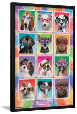Keith Kimberlin- Puppies In Sunglasses by Keith Kimberlin