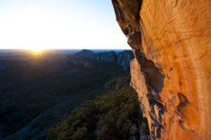 A Scenic View of a Sport Climbing Route in Grampians National Park, Australia by Keith Ladzinski