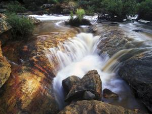 Close View of River Flowing Through Rocks in Cederberg Wilderness Area by Keith Ladzinski