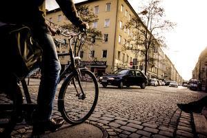 Cobblestone Streets in Munich, Germany by Keith Ladzinski