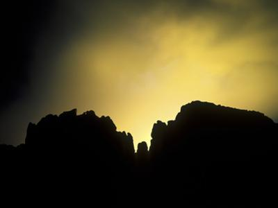 Garden of the Gods During an Evening Storm by Keith Ladzinski