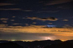 Lightning Strikes over Denver, Colorado by Keith Ladzinski