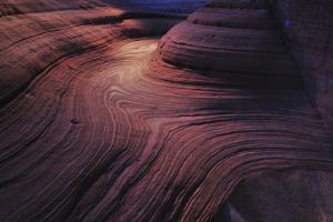 Patterns in Sandstone Due to Water Erosion by Keith Ladzinski