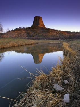 Reflection of Devil's Tower by Keith Ladzinski