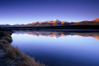 Reflection of Mount Elbert in Crystal Lake Near Leadville, Colorado by Keith Ladzinski