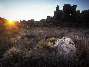 Sunset over Cederberg Wilderness Area, South Africa by Keith Ladzinski