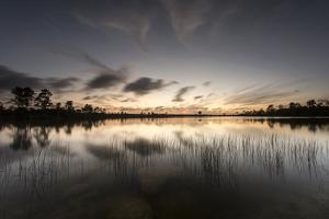 Twilight over Florida's Everglades National Park by Keith Ladzinski