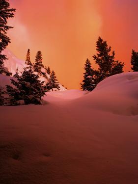 Winter Sunrise in Rocky Mountain National Park, Colorado by Keith Ladzinski
