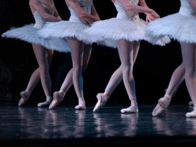 Ballerina's Performing Dance Routine by Keith Levit