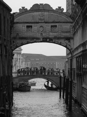 Canal with Bridge, Venice, Italy by Keith Levit