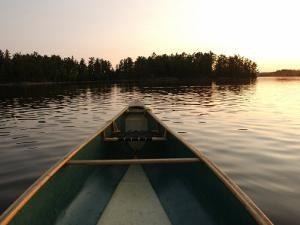 Canoe Trip - Lake of the Woods by Keith Levit