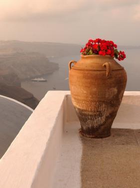 Greek Island of Santorini by Keith Levit