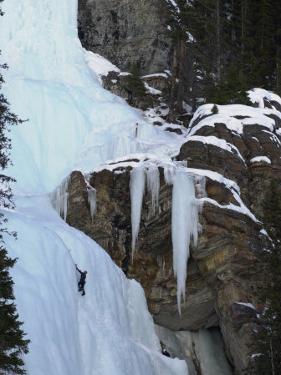 Lake Louise, Ice, Rock Climbing by Keith Levit