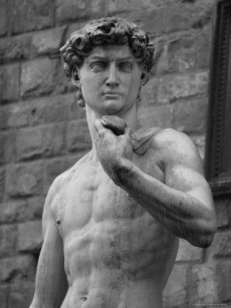 Statue of David by Michelangelo, Florence, Italy by Keith Levit