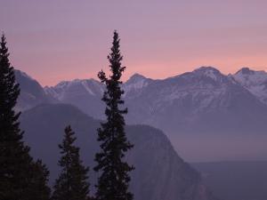 Sunrise, Banff, Alberta, Canada by Keith Levit