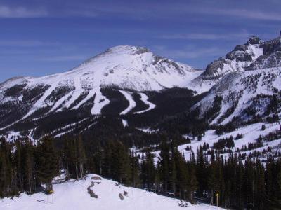 Sunshine Mountain Ski Resort, Banff, Alberta, CAN