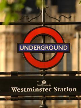 Underground Station, London, England by Keith Levit
