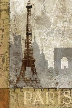 April in Paris by Keith Mallett