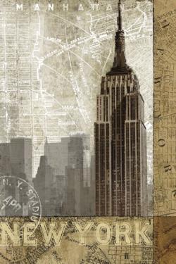Autumn in New York by Keith Mallett