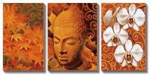 Buddha Panel II by Keith Mallett