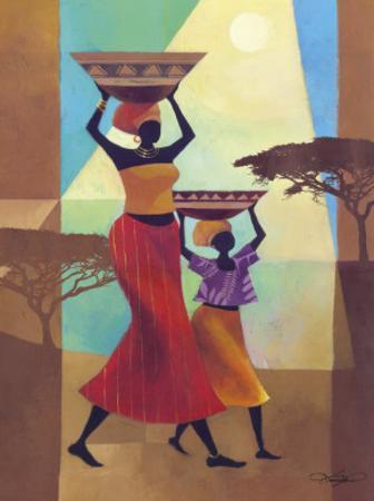 Mother's Helper by Keith Mallett
