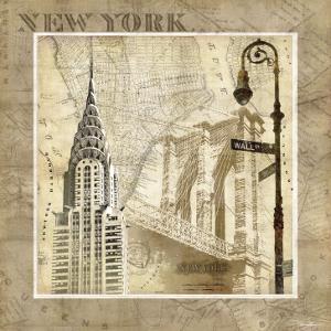 New York Serenade by Keith Mallett