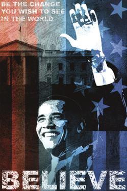 Obama: Believe by Keith Mallett