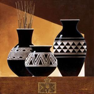 Patterns in Ebony II by Keith Mallett
