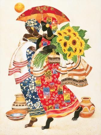 Sunflowers by Keith Mallett