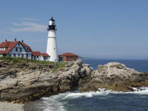 Portland Head Light, Cape Elizabeth, Maine by Keith & Rebecca Snell