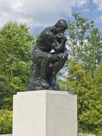 The Thinker, Frederik Meijer Gardens, Grand Rapids, Michigan