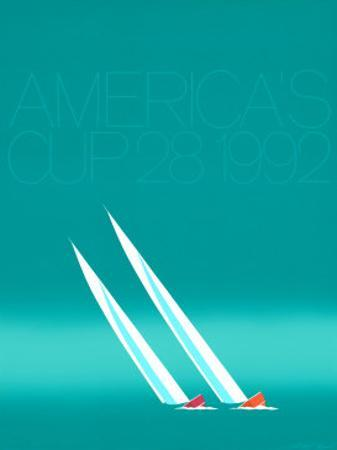 Duel ('92-blue America's Cup) by Keith Reynolds