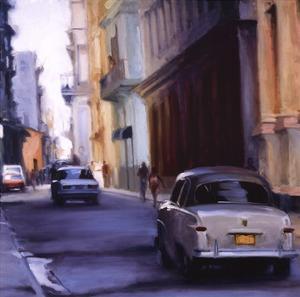 Slow Ride - Havana, Cuba by Keith Wicks