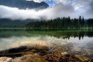 mountain Lake by Keller