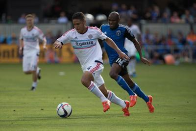 MLS: Chicago Fire at San Jose Earthquakes by Kelley L Cox