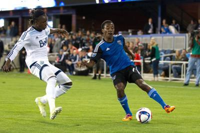 MLS: Vancouver Whitecaps FC at San Jose Earthquakes by Kelley L Cox