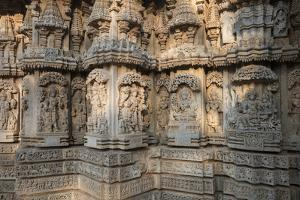 Keshava Temple Houses Friezes of Animals and Humans, and Sculptures of Hindu Gods by Kelley Miller