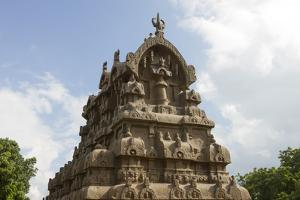 The Intricately Carved Top of the Ganesha Ratha Temple by Kelley Miller