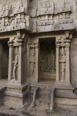 Trimurti Cave Temple Dedicated to the Hindu Trinity of Brahma, Vishnu and Shiva by Kelley Miller