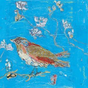 Blue Bird by Kellie Day