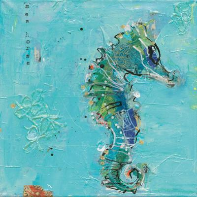 Little Seahorse Blue by Kellie Day