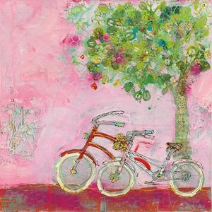 Pink Bicycles by Kellie Day