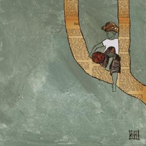 Climbing in the Wind by Kelsey Hochstatter
