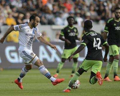 2014 MLS Western Conference Championship: Nov 23, Seattle Sounders vs LA Galaxy - Michael Azira by Kelvin Kuo