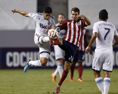 Aug 16, 2014 - MLS: Vancouver Whitecaps vs Chivas USA - Matias Laba